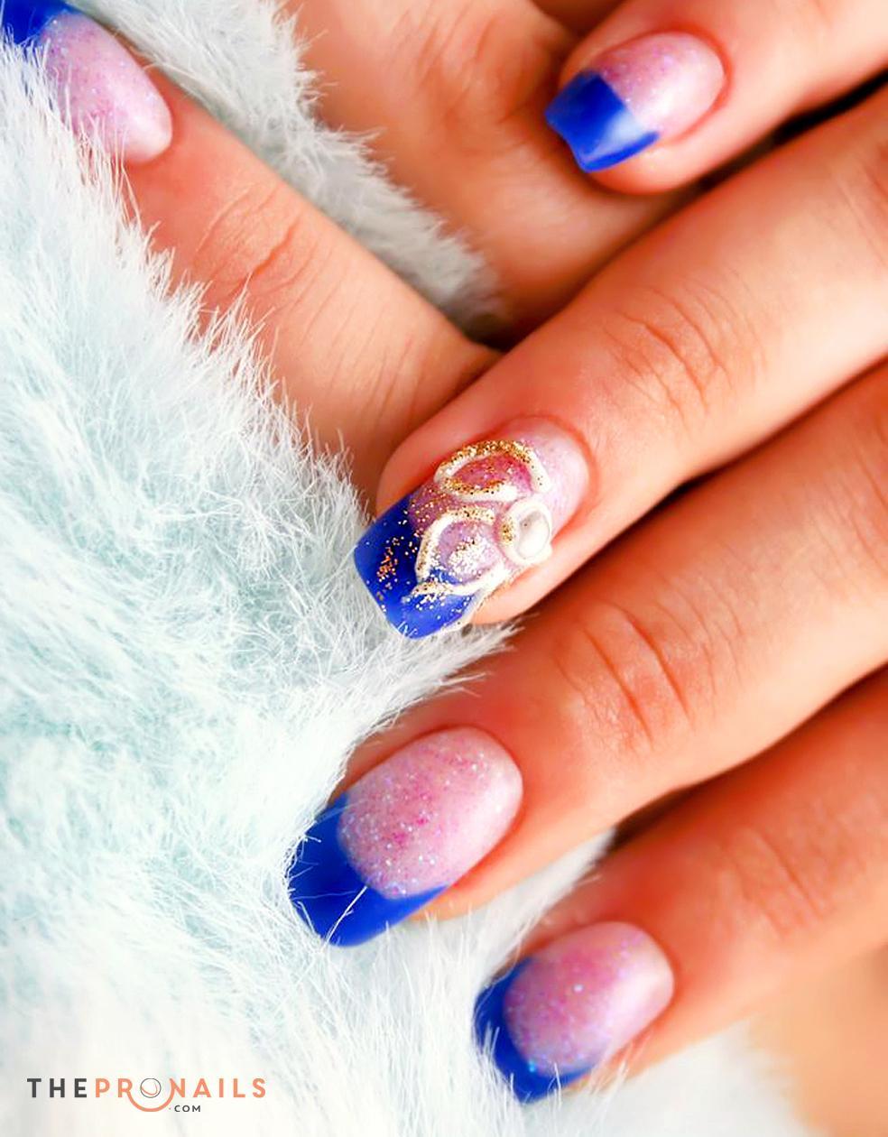 PG Nails | Glitter Powder Tips